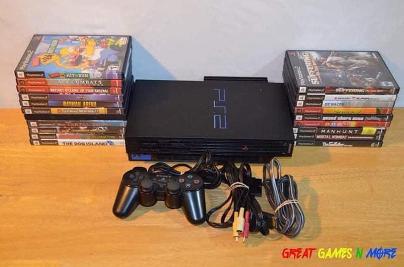 Console de jeux + manette