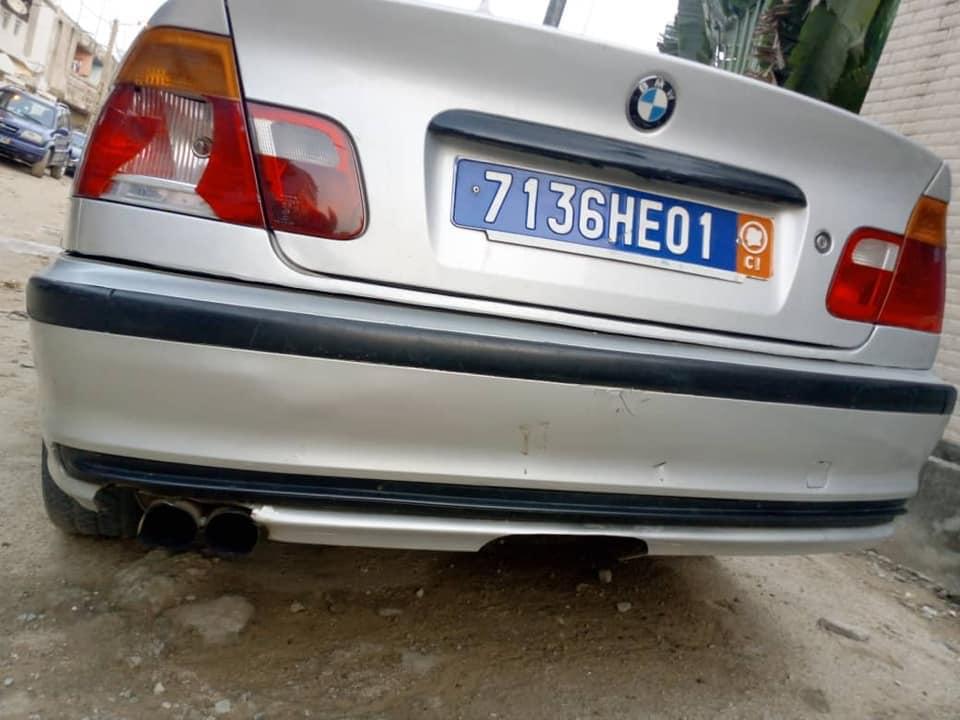 BMW E46 4 cylindres,boîte manuelle