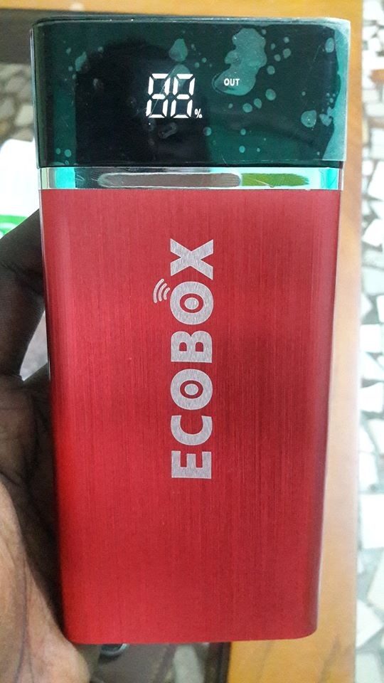 Powerbank ECOBOX 12 000 mAh