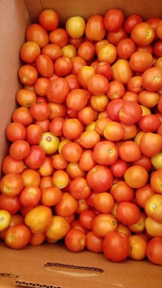 Livraison légumes, marché
