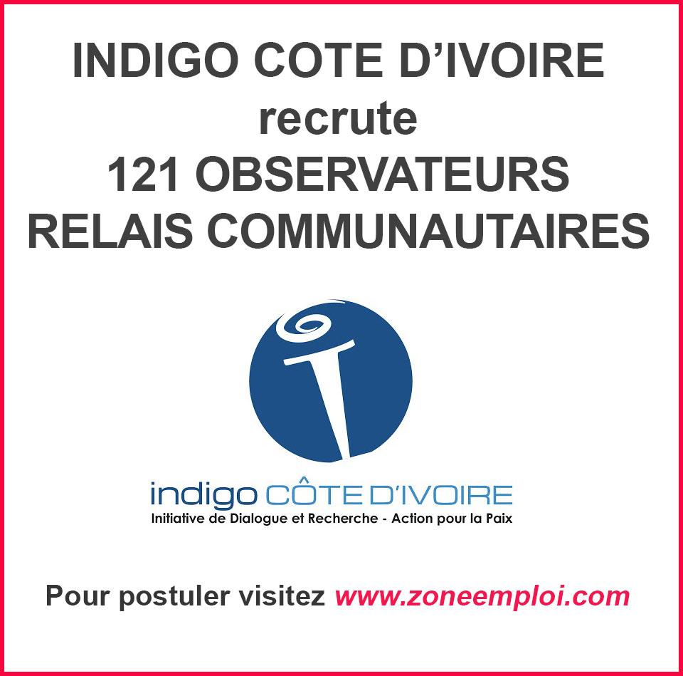 OBSERVATEURS-RELAIS COMMUNAUTAIRES