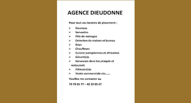 Agence Dieudonné