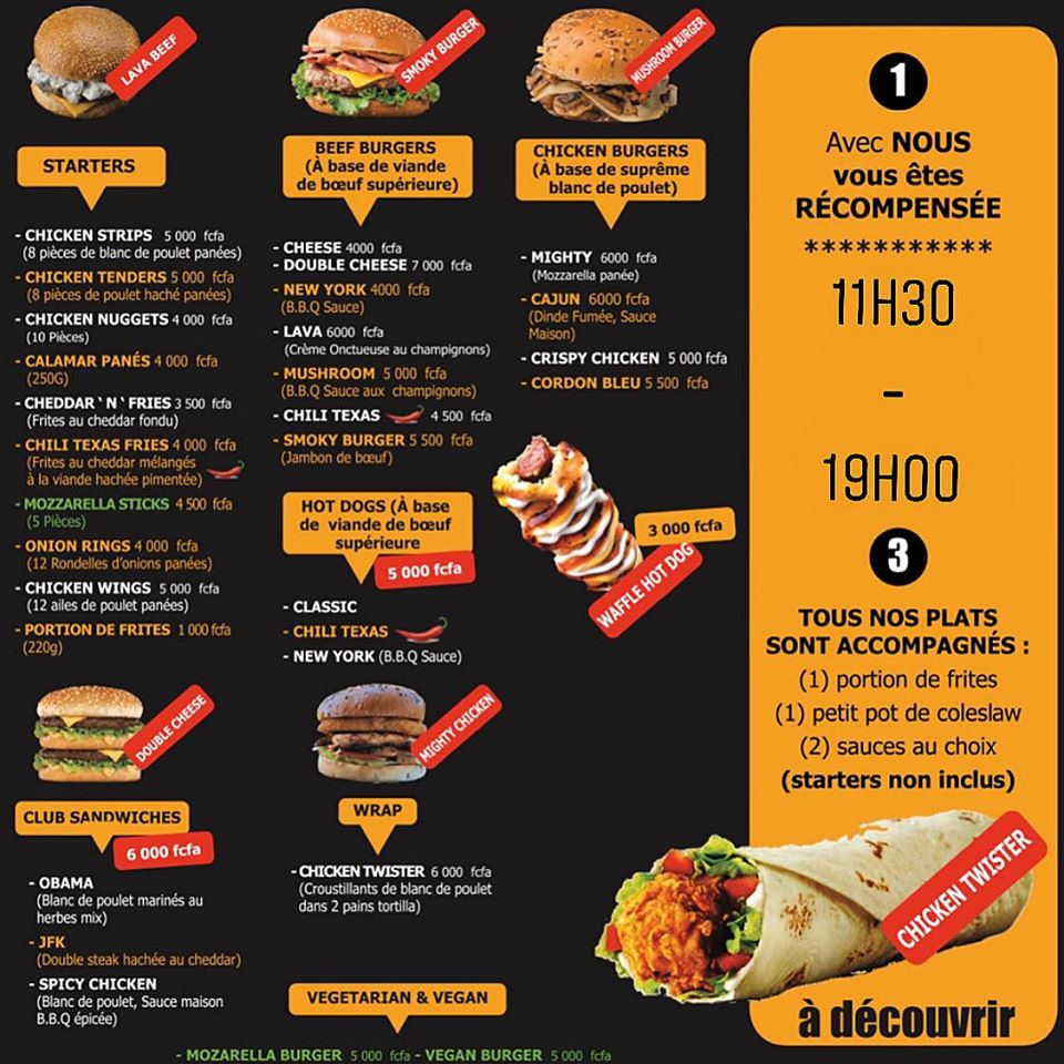 American Sandwich & American Yummies